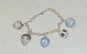 Tim Burton Fan Bracelet by BeCharming