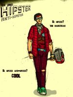 Hipster anti-hipster by TheWallProducciones