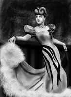 Angela Lansbury by SolarisVoid