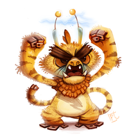 Daily Paint #678. Kanto 125 (Redo)