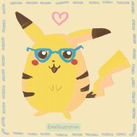 PIKA Hipster Chu by Apple-Spice