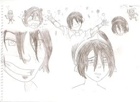 Toph faces by dragonsdale