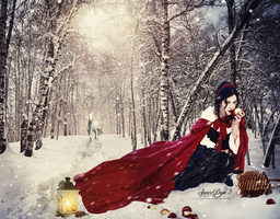 Red Ridding Hood by SpaceDynArtwork