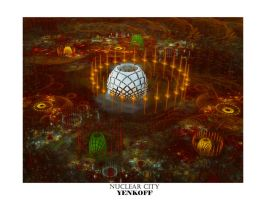 Nuclear City by Yenkoff