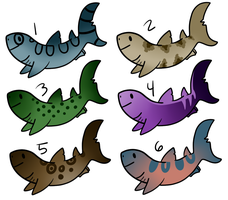 (OPEN) Cheap Shark Adopts by AmayaAdoptions