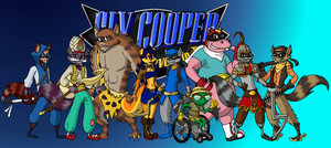 Sly Cooper: Thieves in Time [the crew] by mikiXtheXgreat