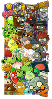 Plants vs Zombies 2 POSTER by illustation16