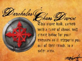 Heretic Artifacts: Darchala's Chaos Device by Liamythesh