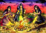 Three Witches by MadBlackie