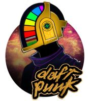 Daft punk by Xaggerate