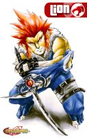 Lion from Thundercats by ZehB
