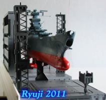 space battleship Yamato wip03 by celsoryuji