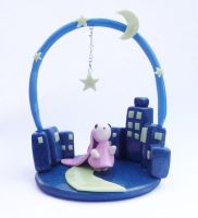 Chobits - The Town With No People figurine by SuGaR-AdDIKt