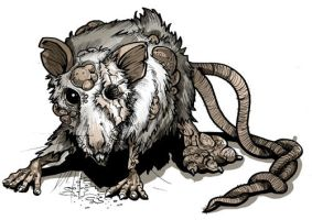 Mutant rat by TmoeGee