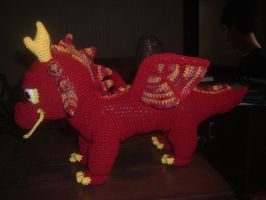 Harry Potter inspired Chinese Fireball  Dragon by Nanettew9