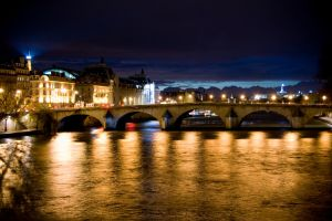 Paris at night by koryna