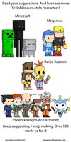 Scribblenauts Character Suggestions 2 by McGenio