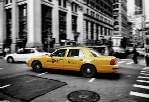 yellow cab by F1L1P