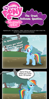 MLP: FiM - The Great Outhouse Question? by PerfectBlue97