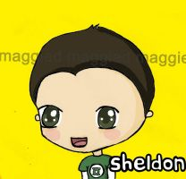 BigBangTheory Chibi Sheldon by maggied17