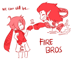 FIRE BROS by ayrra