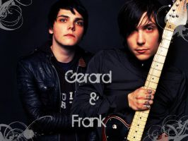 Gerard and Frank wallpaper by Miserablexromance