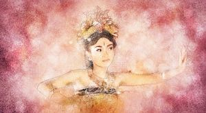 Balinese dancer by primayoga