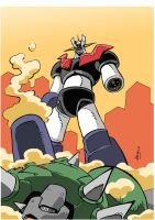 Mazinger Z by NachoMon