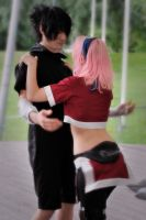 CP: Sasuke and Sakura. by flexitrax