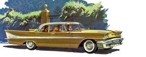 age of chrome and fins : 1958 DeSoto by Peterhoff3