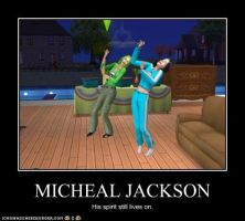 Micheal Jackson by Wolfman163