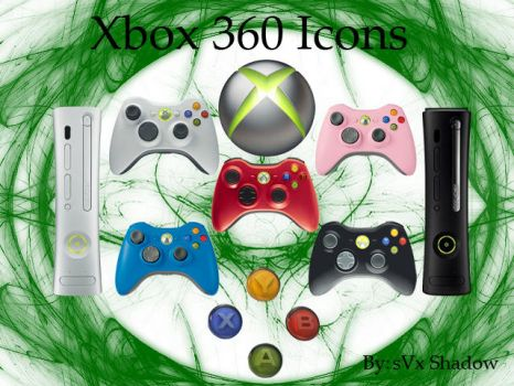 Xbox 360 Icons by sVxShadow