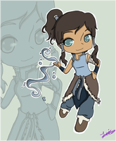 [A:LoK] Deal With It - Korra by Citizen-of-the-World