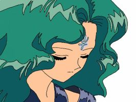 Sailor Neptune: Voice of Deep Waters and Embrace by BlazingTyphlosion