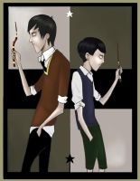 Sirius and Regulus Black by Kellward
