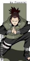 Shikamaru Bookmark by Tionniel