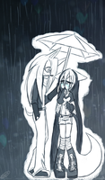 You are the Umbrella in my Rain... by DawnValentine101