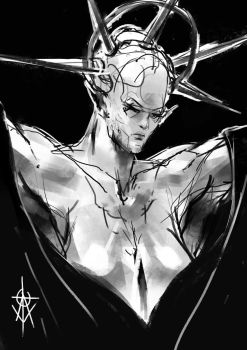 Godess Sketch by atomcyber