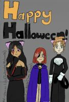 Belated Halloween Pic by DRei-chan