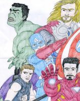 Avengers Assemble by DitaDiPolvere