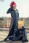 Kingdom Hearts by MissHatred Leon Chiro Cosplay by JessicaMissHatred