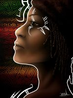 Roots Girl by YoulDesign