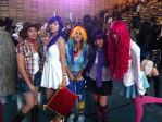 The Mane5 from MLP FiM (Ficosplay Chile 2014) by marvincmf