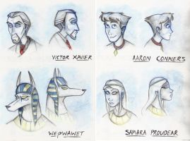 Silverbolt's Characters 1 by Expression