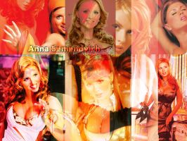 Anna Semenovich colors by magXlander