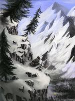 The Skirling Pass  - very old image by Inkbird