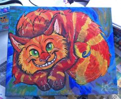 Cheshire Cats Grin by TheArtyMadCow
