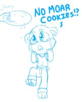 No Moar Cookies by tommychan