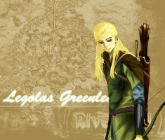 LOTR:Legolas Greenleaf by Lelance
