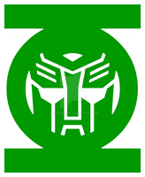 Green Lantern Autobot by Fishbug